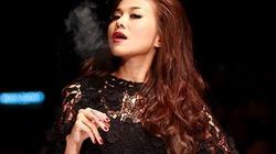 Phản cảm cảnh Thanh Hằng phì phèo thuốc lá