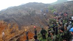 Hàng trăm nghìn tấn đất đá vùi nhà dân: Kinh hoàng