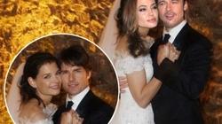 Lộ loạt ảnh Angelina Jolie lộng lẫy trong váy cưới?