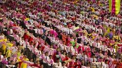 Bình Nhưỡng vẫn rực rỡ pháo hoa, rộn ràng khiêu vũ