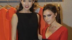 Victoria đọ độ sành điệu với Hoa hậu Trương Tử Lâm