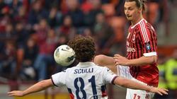 Boateng lập công, Milan nhọc nhằn hạ Genoa