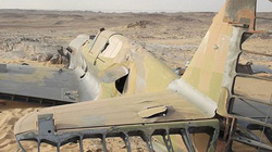 Sau 70 năm, xác máy bay trên sa mạc Sahara vẫn nguyên vẹn