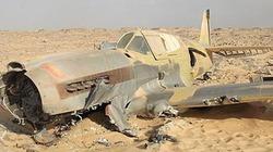 Thấy xác máy bay chiến đấu trên sa mạc Sahara