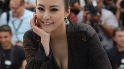 Mỹ nhân Trung Quốc khoe khe ngực hút mắt