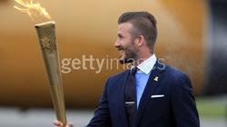 Bekcham vinh dự được rước đuốc Olympic 2012