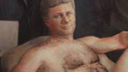 Thư viện Canada trưng tranh Thủ tướng khỏa thân