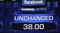 Cổ phiếu của Facebook không tăng giá nhiều như kỳ vọng