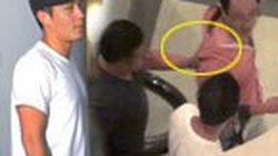 Trần Quán Hy túm cổ áo, hành hung phóng viên