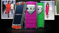 Vertu tung loạt điện thoại đá quý đầy sắc màu