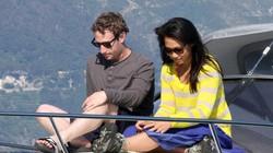 Vợ chồng CEO Facebook đi nghỉ trăng mật