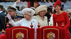 Nước Anh tưng bừng trong Đại lễ Kim cương