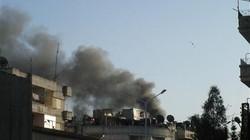 Giao tranh khốc liệt  tại thủ đô Syria
