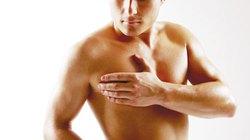 Ngực nam giới bên to - bên nhỏ, có nguy hiểm?