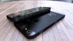 iPhone 5 sẽ màu đen hoàn toàn?