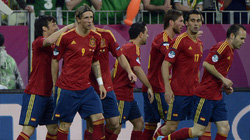 """Tây Ban Nha trút """"mưa bàn thắng"""" vào lưới CH Ireland"""