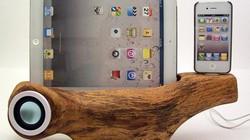 iPhone, iPad sẽ thế nào khi cắm vào… cây gỗ