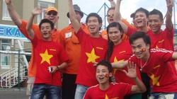 Rực đỏ sắc Việt ở EURO
