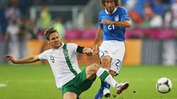 Hạ Ireland 2-0, Italia đoạt vé vào tứ kết