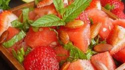 Các món salad quyến rũ sắc màu và hương vị từ... dưa hấu
