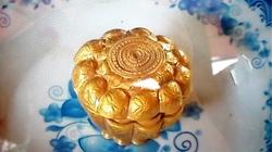 Nắp cổ vật bằng vàng đời Trần bỗng dưng biến mất