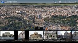 Bản đồ Google Earth 7.0 hiển thị hình ảnh 3D