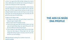 Thẻ cá nhân ADN tại Việt Nam