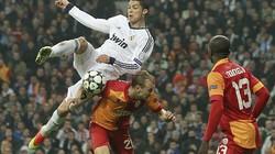 Real-Galatasaray (3-0): Người Thổ gục ngã dưới cánh Kền kền