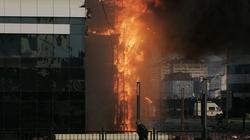 Hỏa hoạn dữ dội tại tòa nhà chọc trời ở Nga