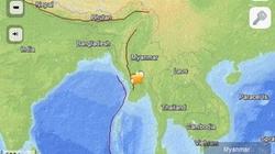 Động đất mạnh 5,8 độ richter rung chuyển Myanmar