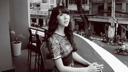 Ngọc Quyên kín đáo, trầm mặc giữa Sài Gòn