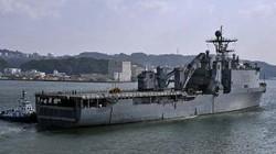 Mỹ đưa tàu đổ bộ đến Philippines tập trận