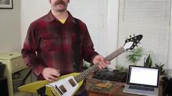 Soạn email bằng … đàn ghita điện tử