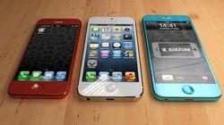 Hình ảnh nguyên mẫu iPhone giá rẻ màu sắc