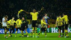 Dortmund-Malaga (3-2): Du dây tử thần vào bán kết