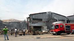 Hàng trăm tấn hàng thế chấp cho ngân hàng Sacombank bị cháy