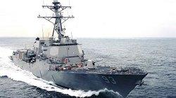 Tàu khu trục Mỹ mang tên lửa dẫn đường đến Việt Nam