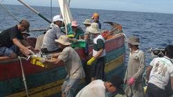 Ngư dân đánh bắt ở Hoàng Sa bị đứt lìa ngón tay