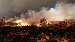Cận cảnh tan hoang sau vụ nổ nhà máy phân bón