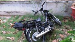 Một phụ nữ chết cháy trên xe máy