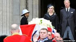 Nước Anh quyến luyến tiễn đưa bà Margaret Thatcher