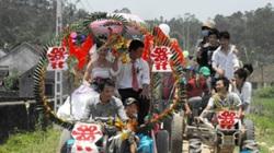 Nghệ An: Rước dâu bằng xe công nông tự chế