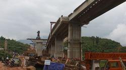 Sập dầm cầu vượt cao tốc Nội Bài-Lào Cai làm 1 người chết