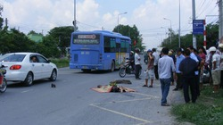 Cụ ông 74 tuổi bị xe tải tông chết tại chỗ