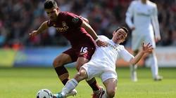 Swansea-Man City (0-0): Man xanh bất lực