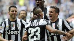 Vidal lập công, Juventus sớm giành Scudetto