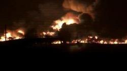 Bỉ: Đoàn tàu hỏa chở hóa chất bốc cháy