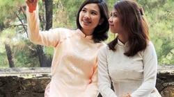 Nữ sinh Thái Lan làm duyên cùng tà áo dài Việt Nam