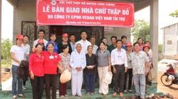 5 hộ nông dân nghèo được Vedan tặng nhà