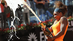 Serena Williams đăng quang thuyết phục ở Rome Open